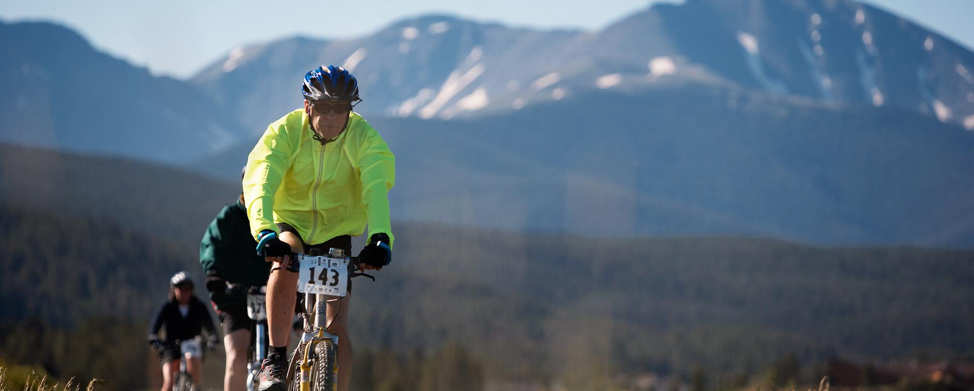 Mountain biking in Winter Park