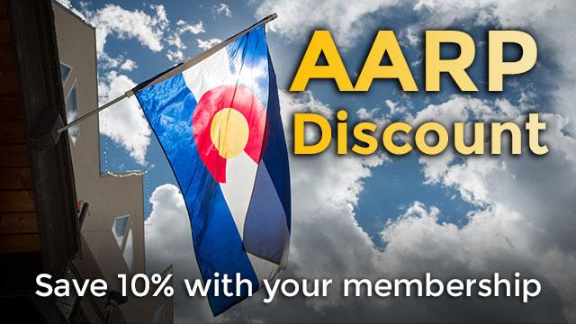 AARP members save 17%